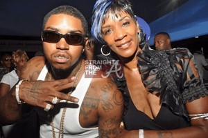Lil Scrappy and Mama D